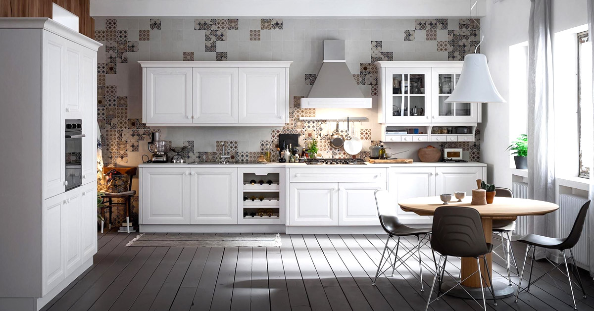 Catalogo Veneta cucine, zona living, soggiorno.