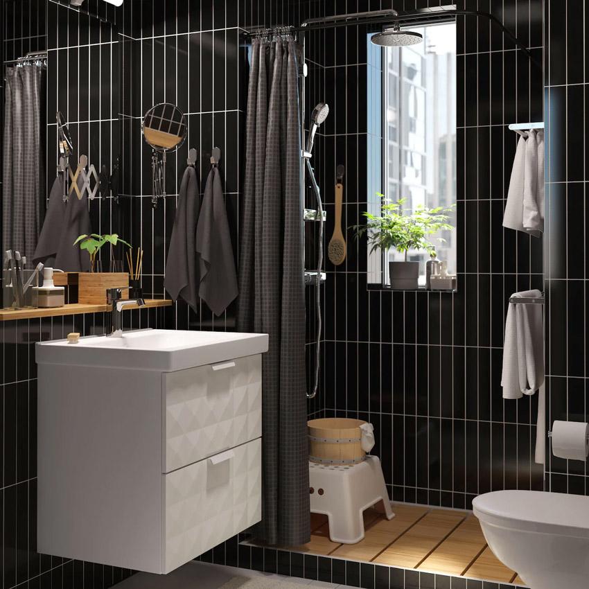 Bagnetto IKEA bianco e nero