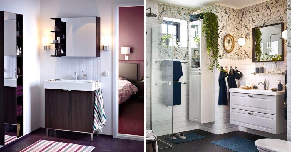 idee per arredare un bagnetto da IKEA