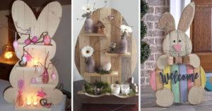 decorazioni fai da te con i pallet