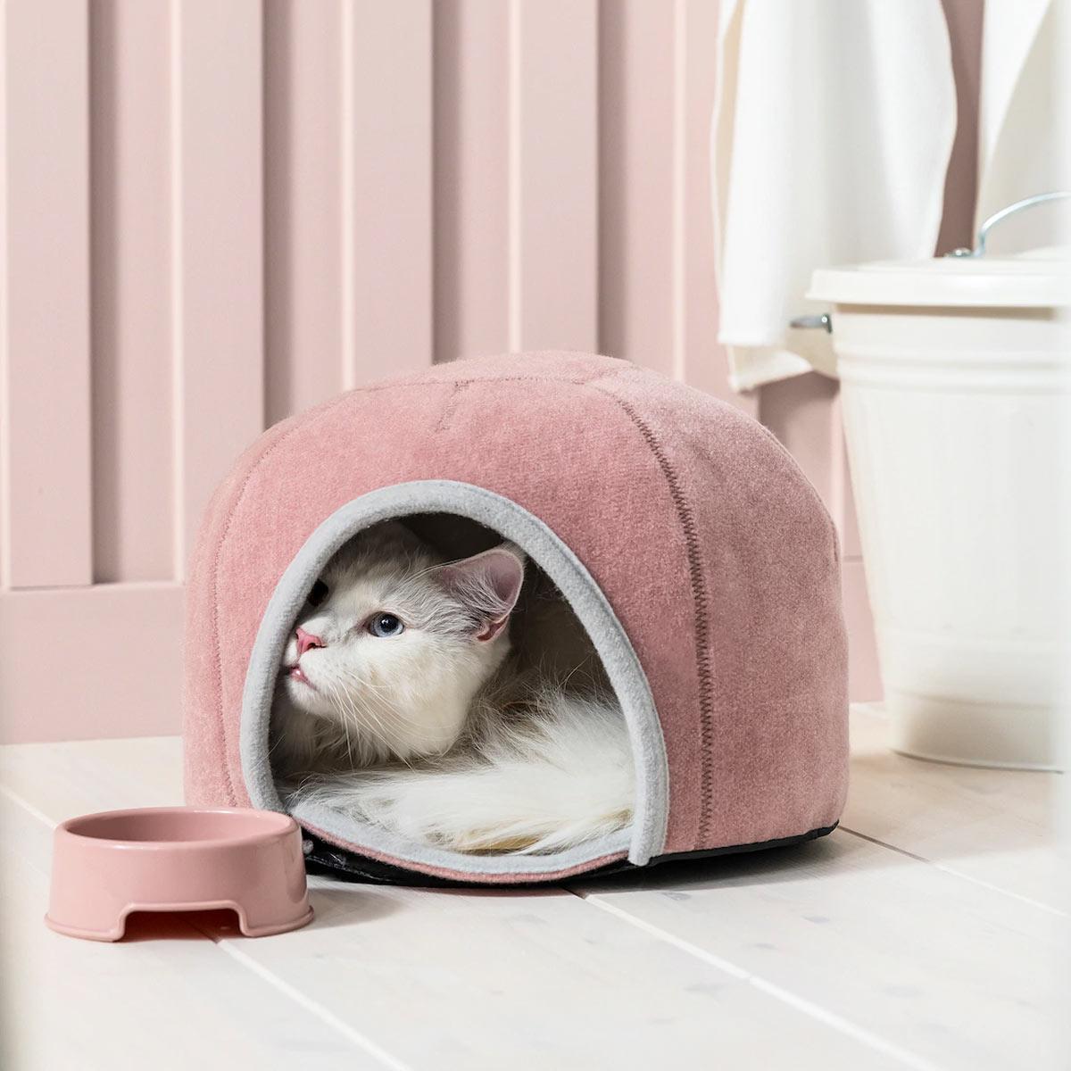 Cuccia rosa per gatti IKEA