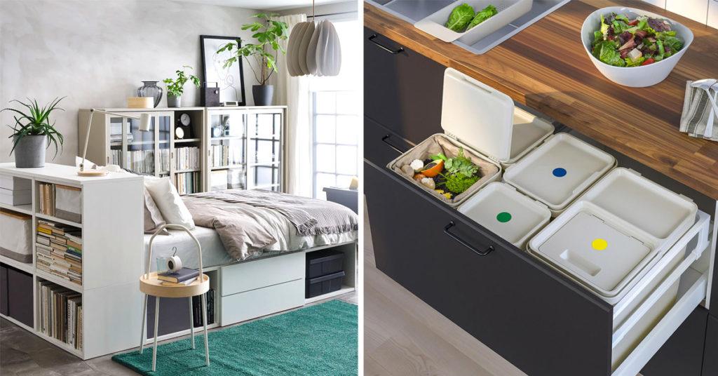 soluzioni salvaspazio IKEA