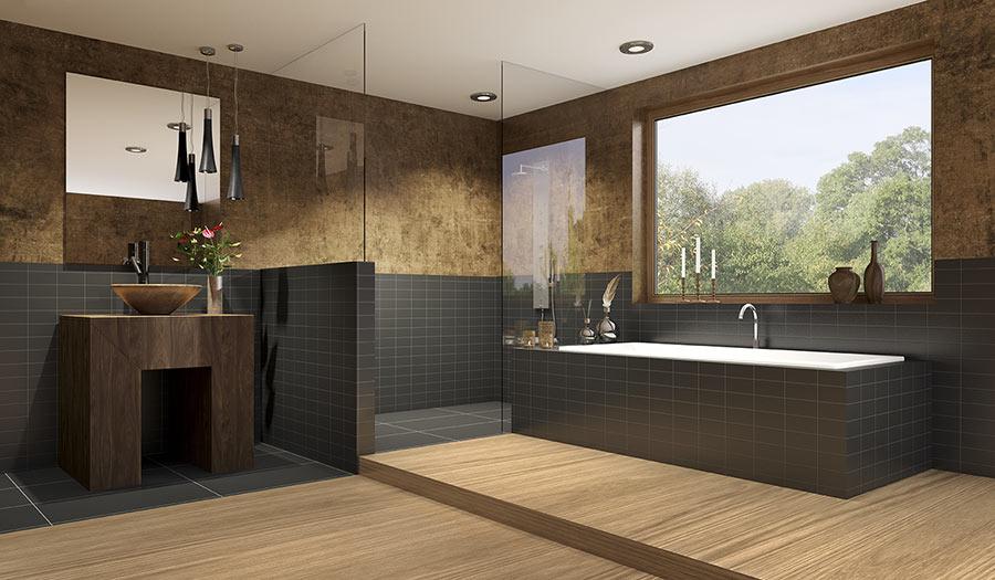 idee per ristrutturare il bagno in stile moderno