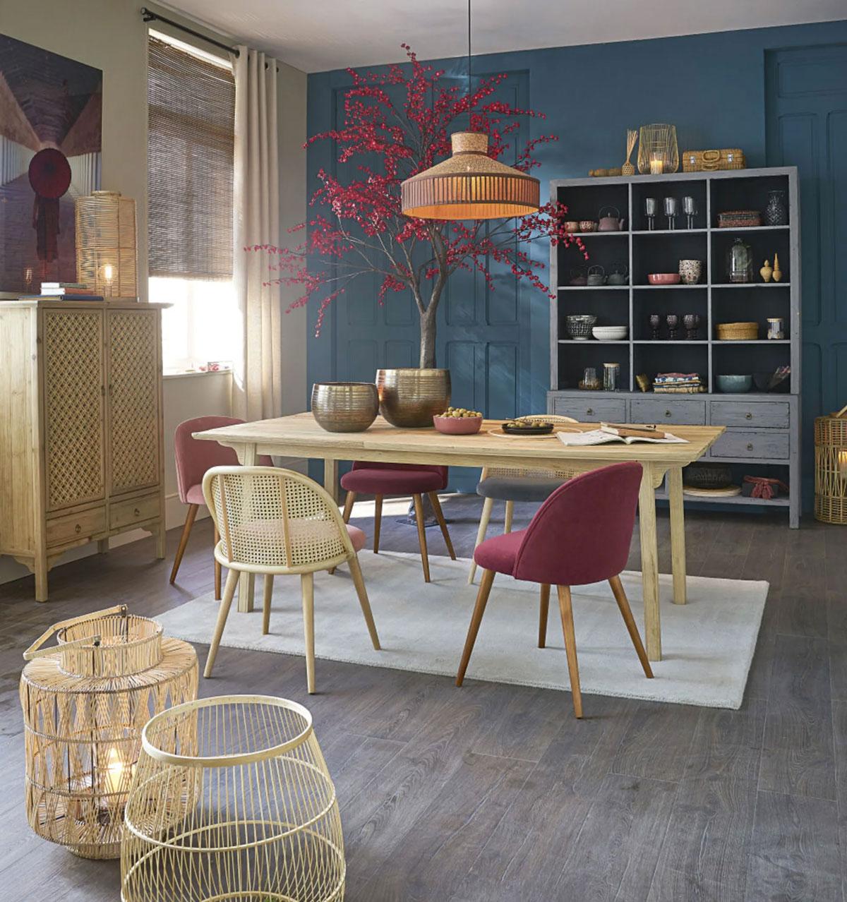 Maisons du monde sala da pranzo stile esotico