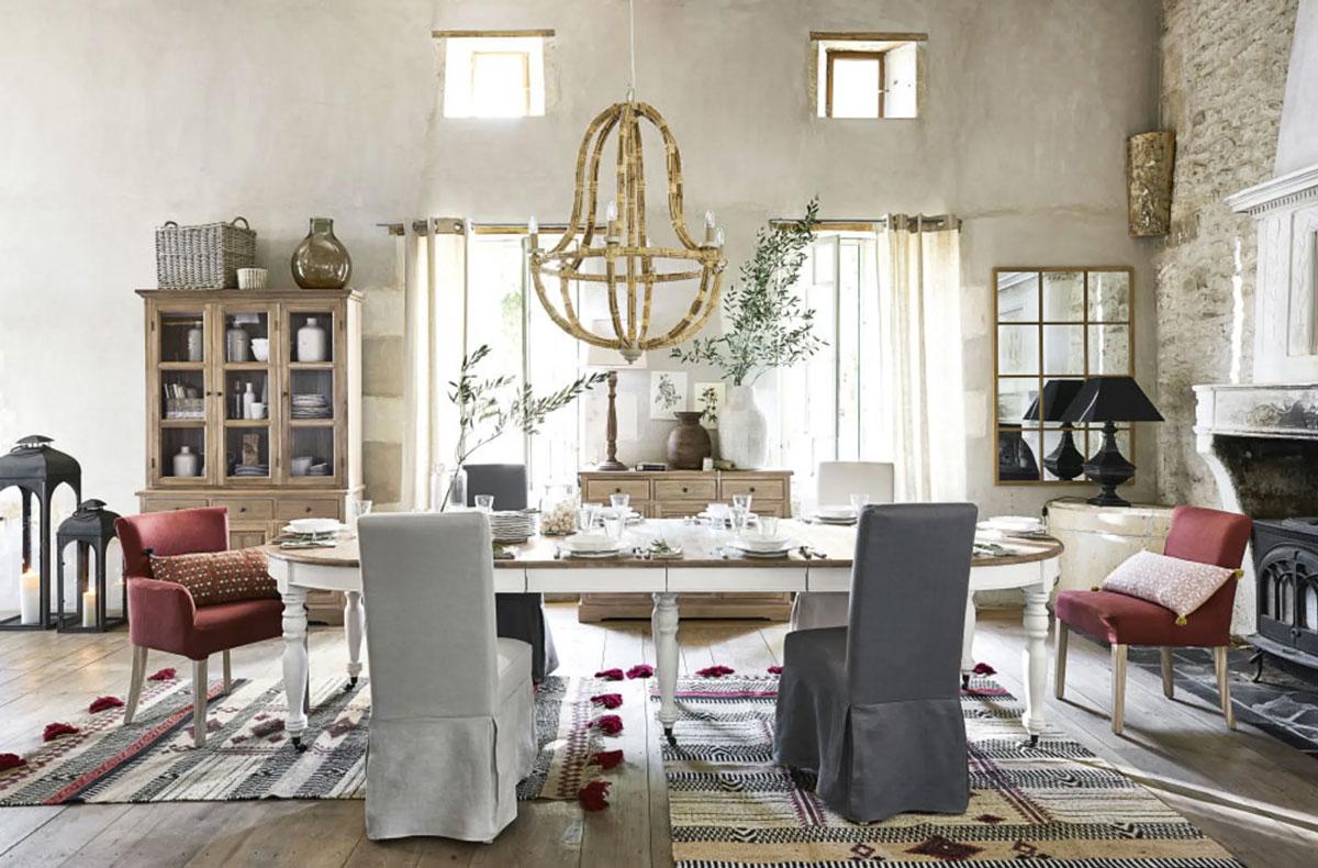 Maisons du monde 2020 5 stili di arredamento per la sala for Sito per progettare casa