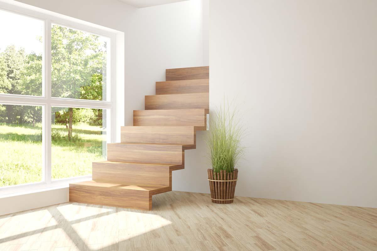 scale in legno design stile minimal
