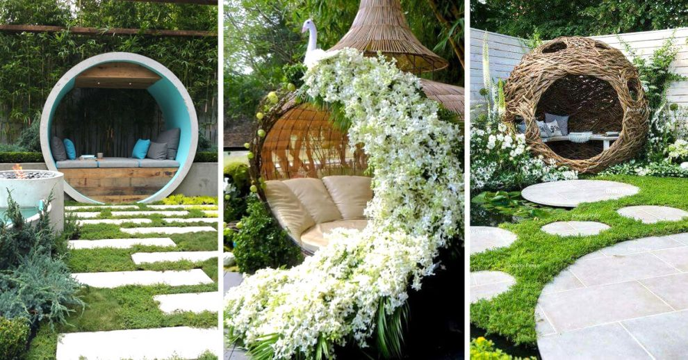 Molto Un nido di relax in giardino! 13 idee da cui trarre ispirazione... OX57