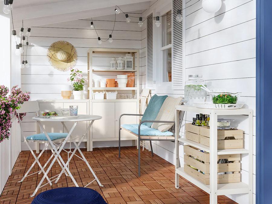 Arredare il terrazzo con Ikea! 15 ispirazioni per il 2020...