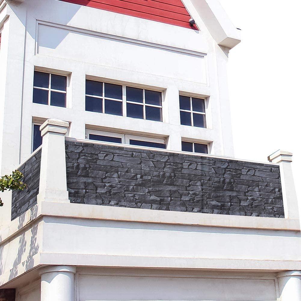 Copri ringhiera balcone con stampa mattoncini.