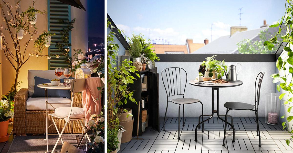 arredare il terrazzo con ikea.