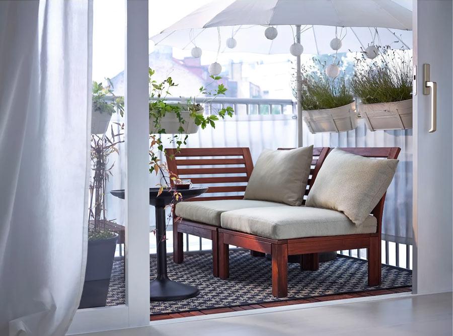 Divano da esterno IKEA ÄPPLARÖ