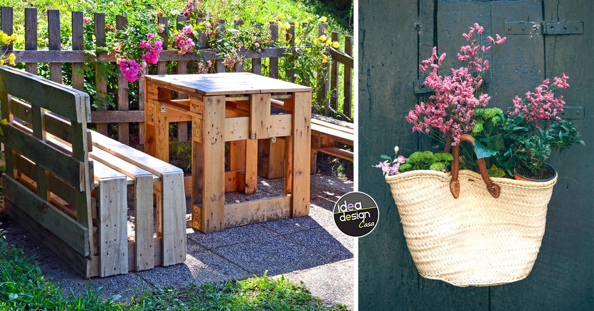 idee fai da te per il giardino