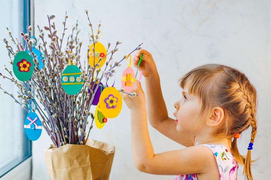 Lavoretti di Pasqua per la scuola dell'infanzia.