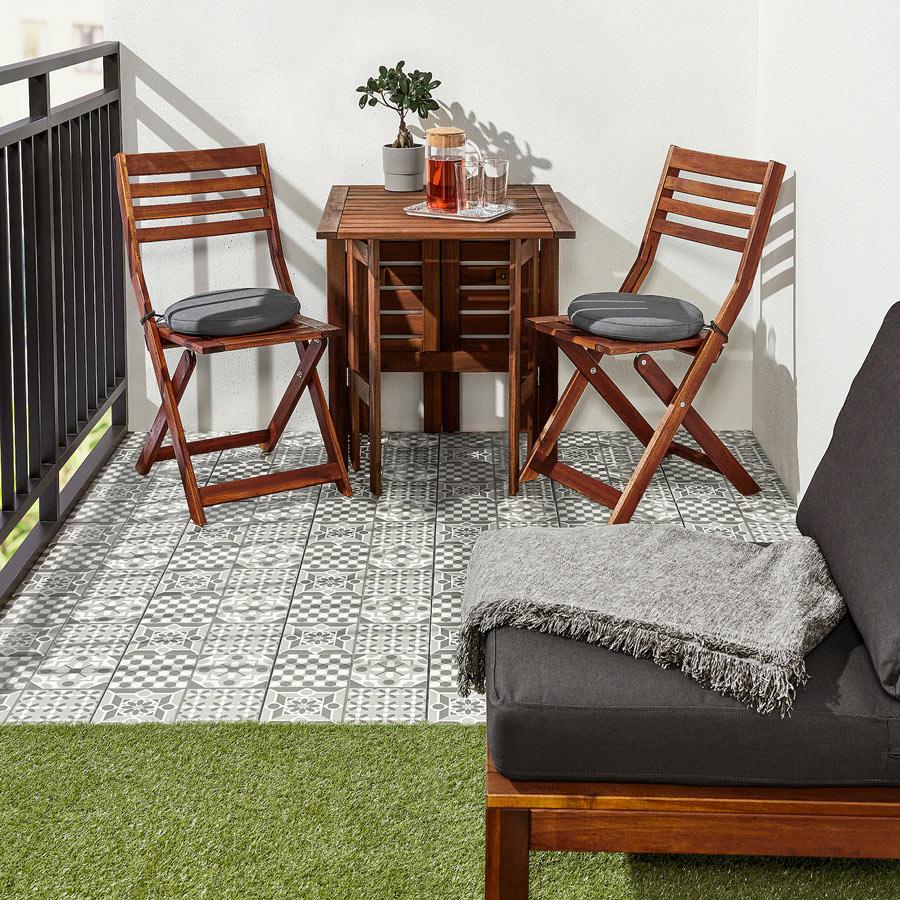 Tavolino Per Balcone Ikea arredare il terrazzo con ikea! 15 ispirazioni per il 2020