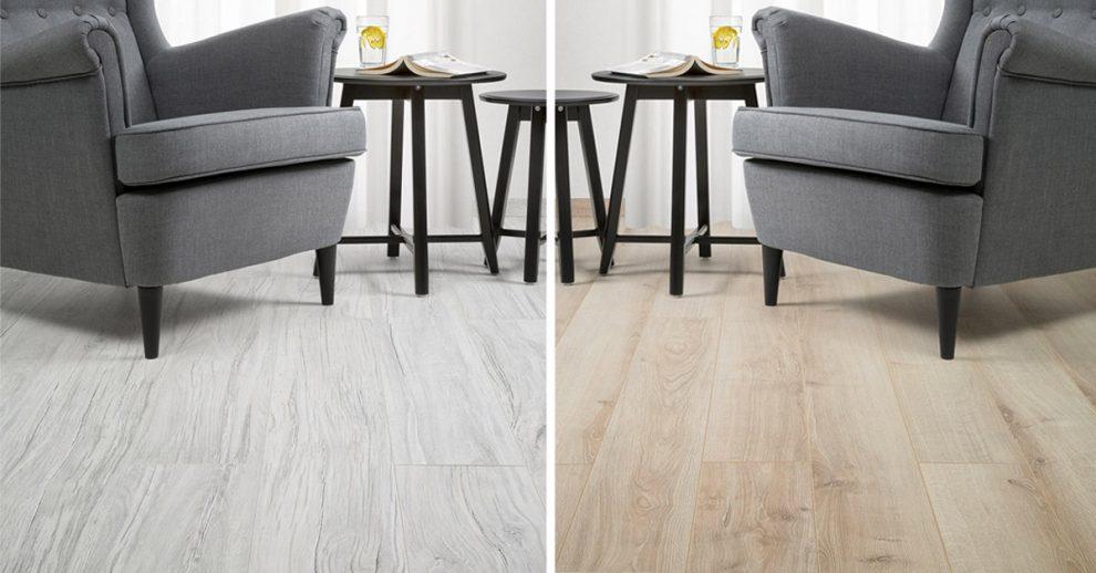 ispirazioni pavimento effetto legno parquet IKEA.