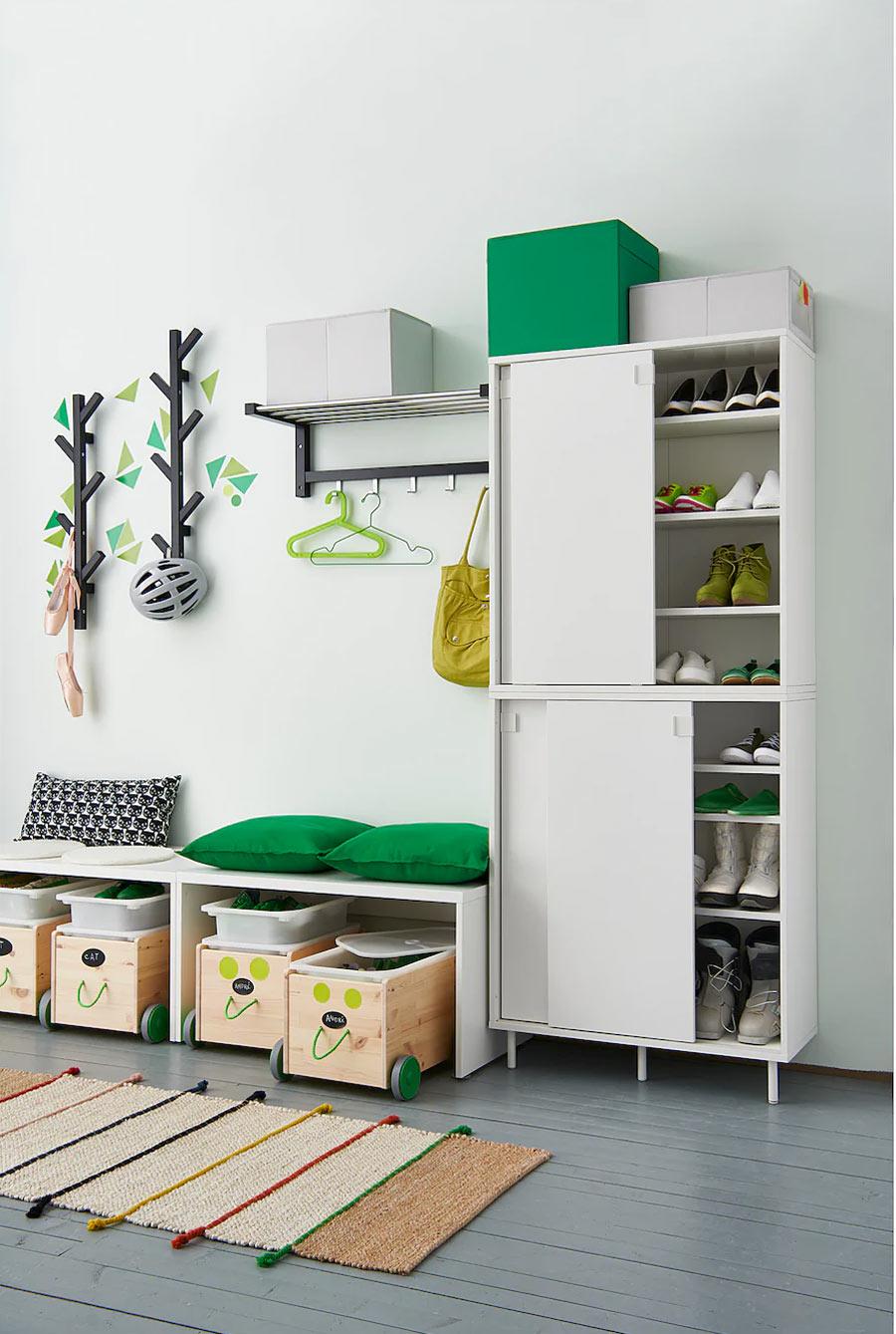 Scarpiera IKEA modello MACKAPÄR.