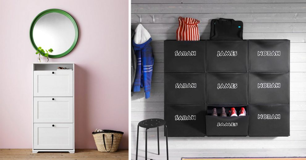 scarpiera IKEA, mobili portascarpe.