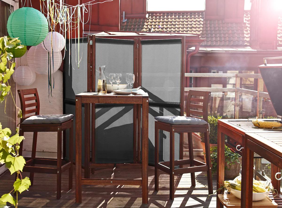 Ikea per il balcone piccolo