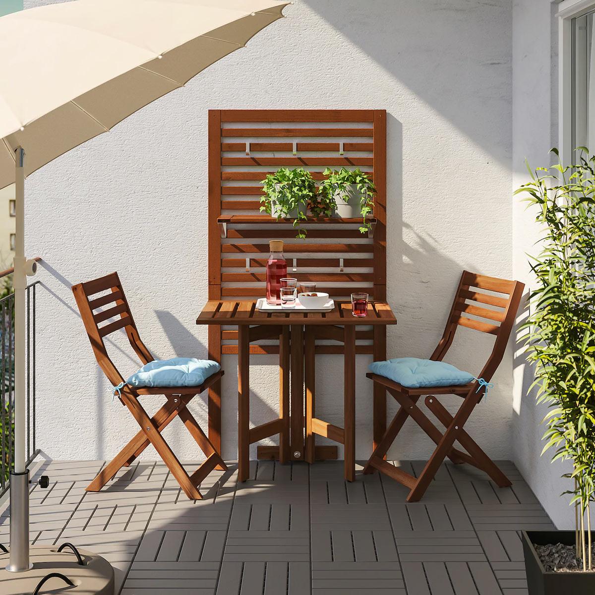 Tavolino Per Balcone Ikea 13 soluzioni ikea per il balcone piccolo! ispiratevi