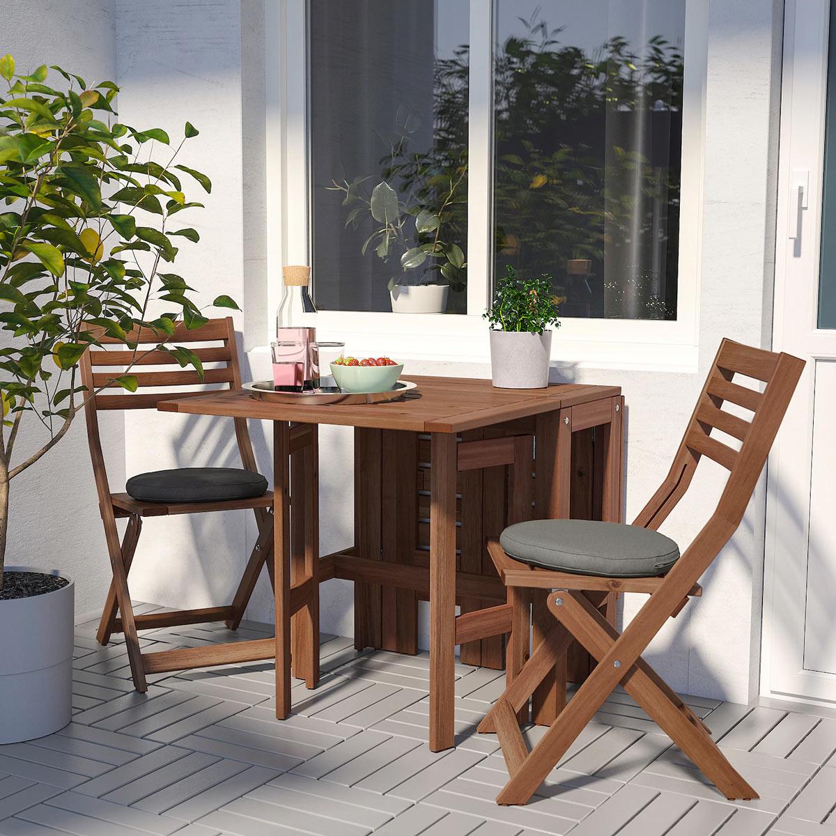 Arredare Il Balcone Ikea 13 soluzioni ikea per il balcone piccolo! ispiratevi