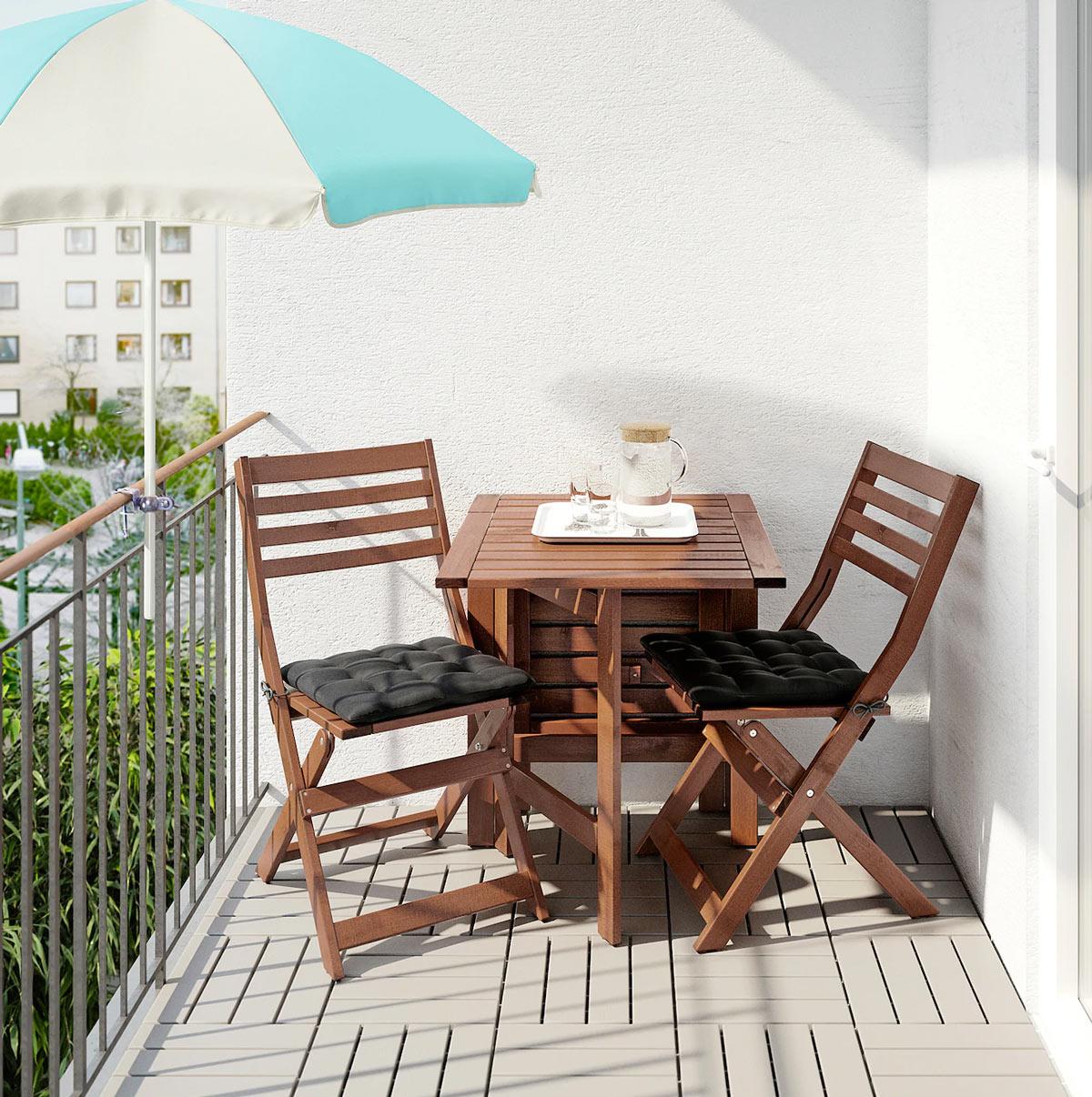 13 soluzioni Ikea per il balcone piccolo! Ispiratevi
