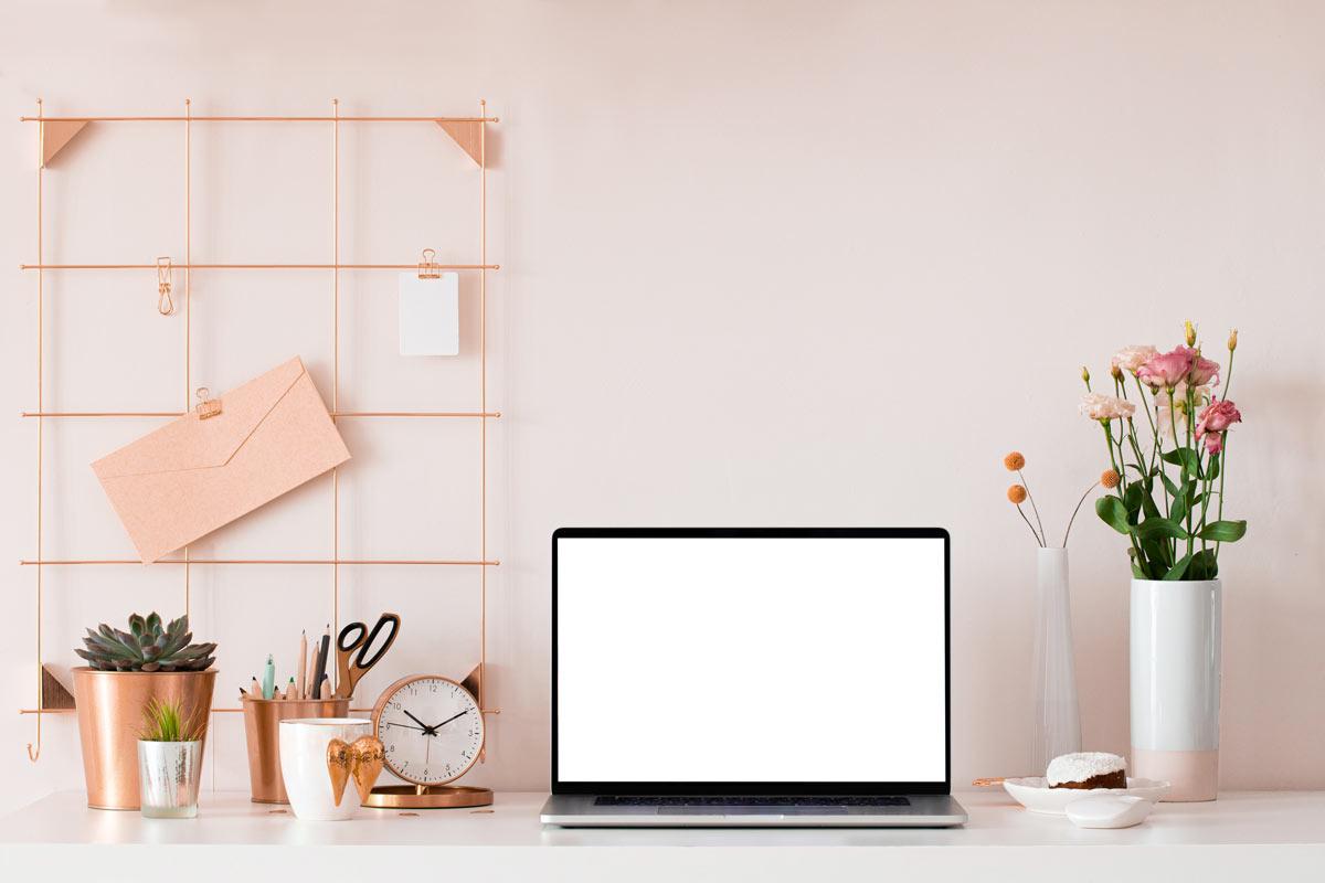 Scrivania ufficio in casa