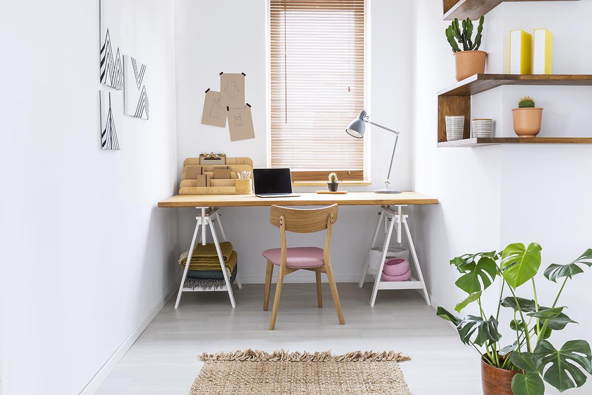 angoletto ufficio moderno in casa.