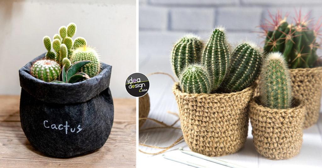 Ispirazioni per decorare un vaso con cactus