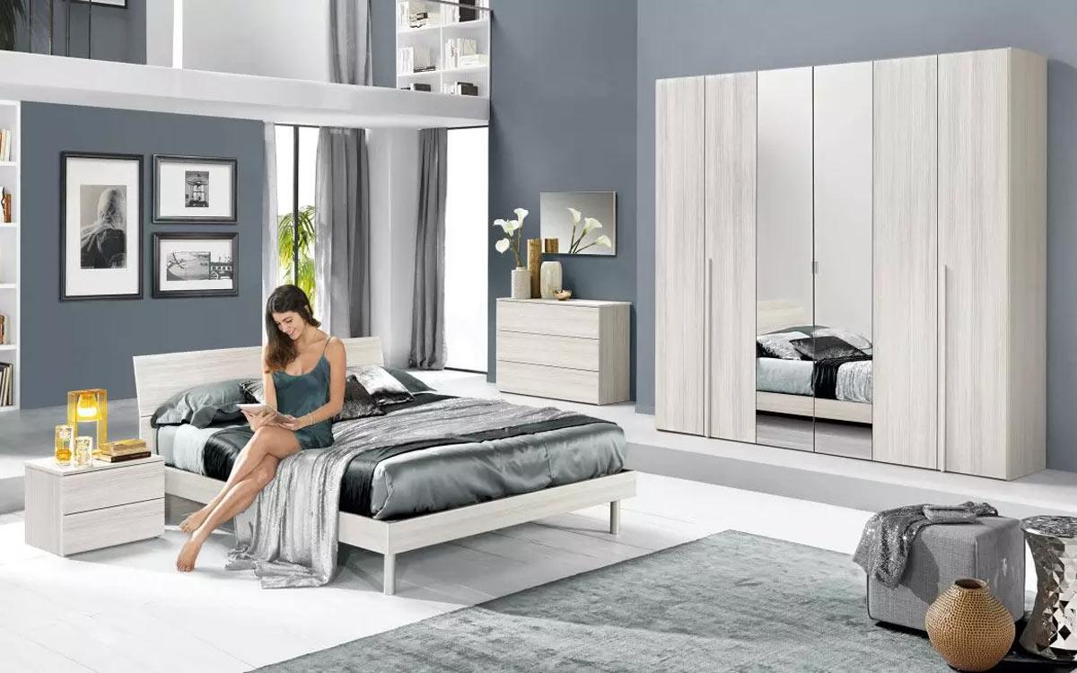 Camera da letto Mondo convenienza modello Donatella con sconto iva.