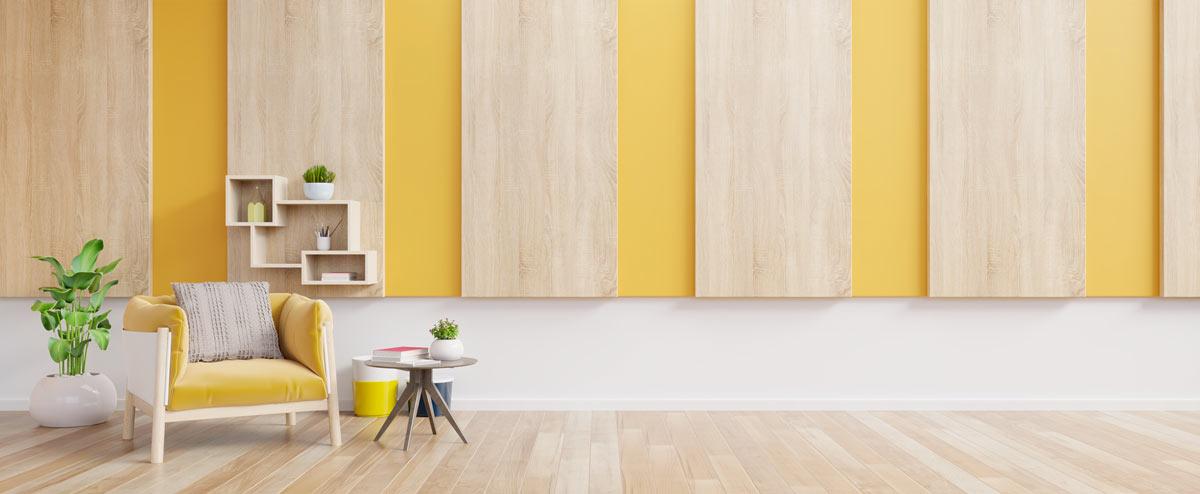 Decorare casa con i colori pastelli.