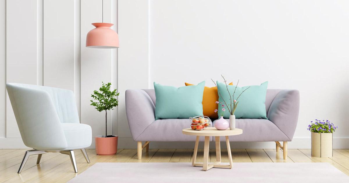idee colori pastelli per decorare casa.
