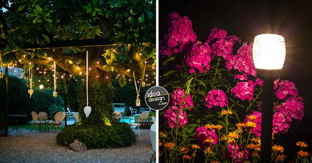 Ispirazioni illuminazione giardino originale.