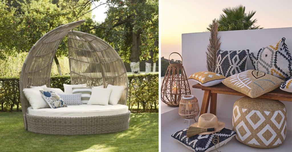 Arredi relax per il giardino Maisons du monde.