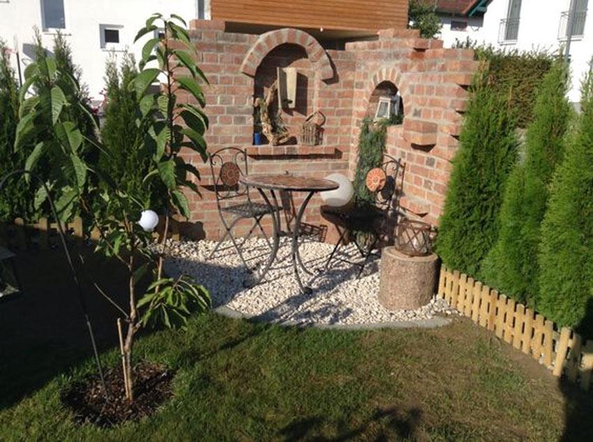 piccolo rudere giardino