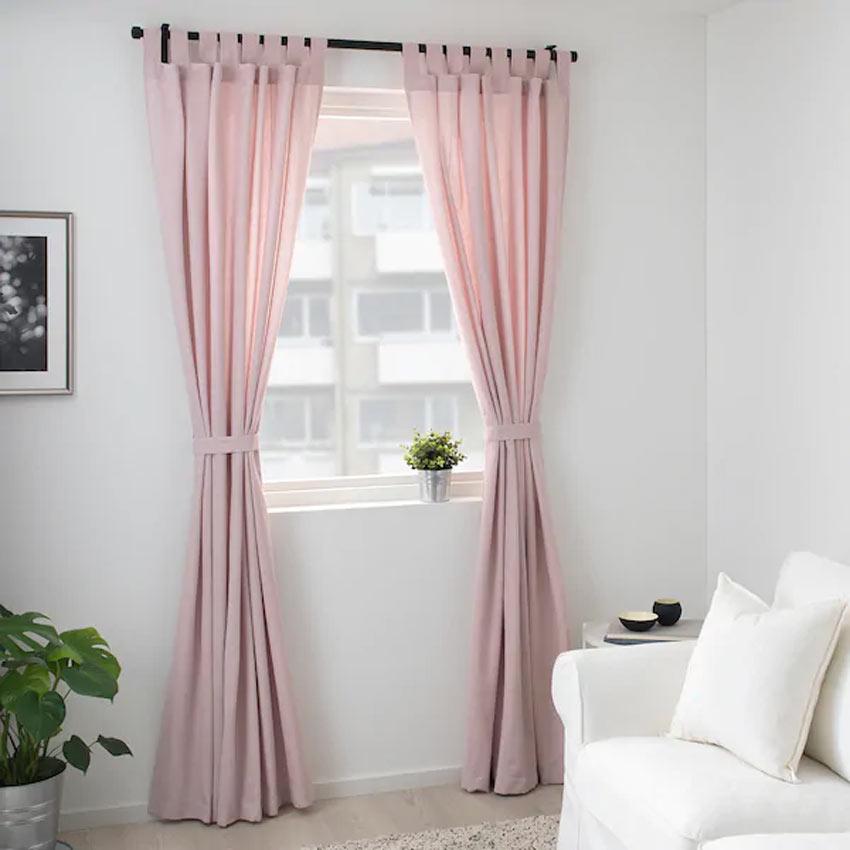 Tende rose primaverili collezione IKEA primavera 2020.
