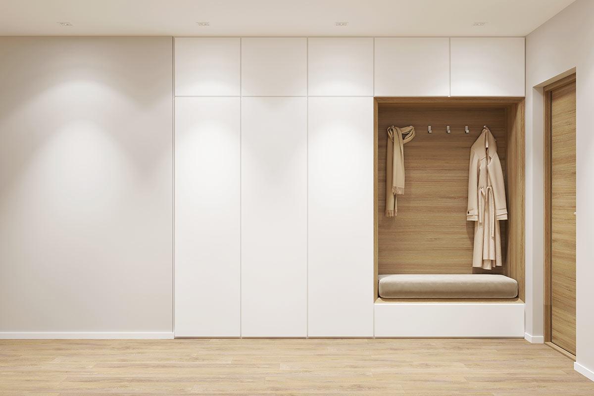 Armadio A Muro Bianco.Armadio A Muro 15 Soluzioni Salvaspazio Per Una Casa Funzionale
