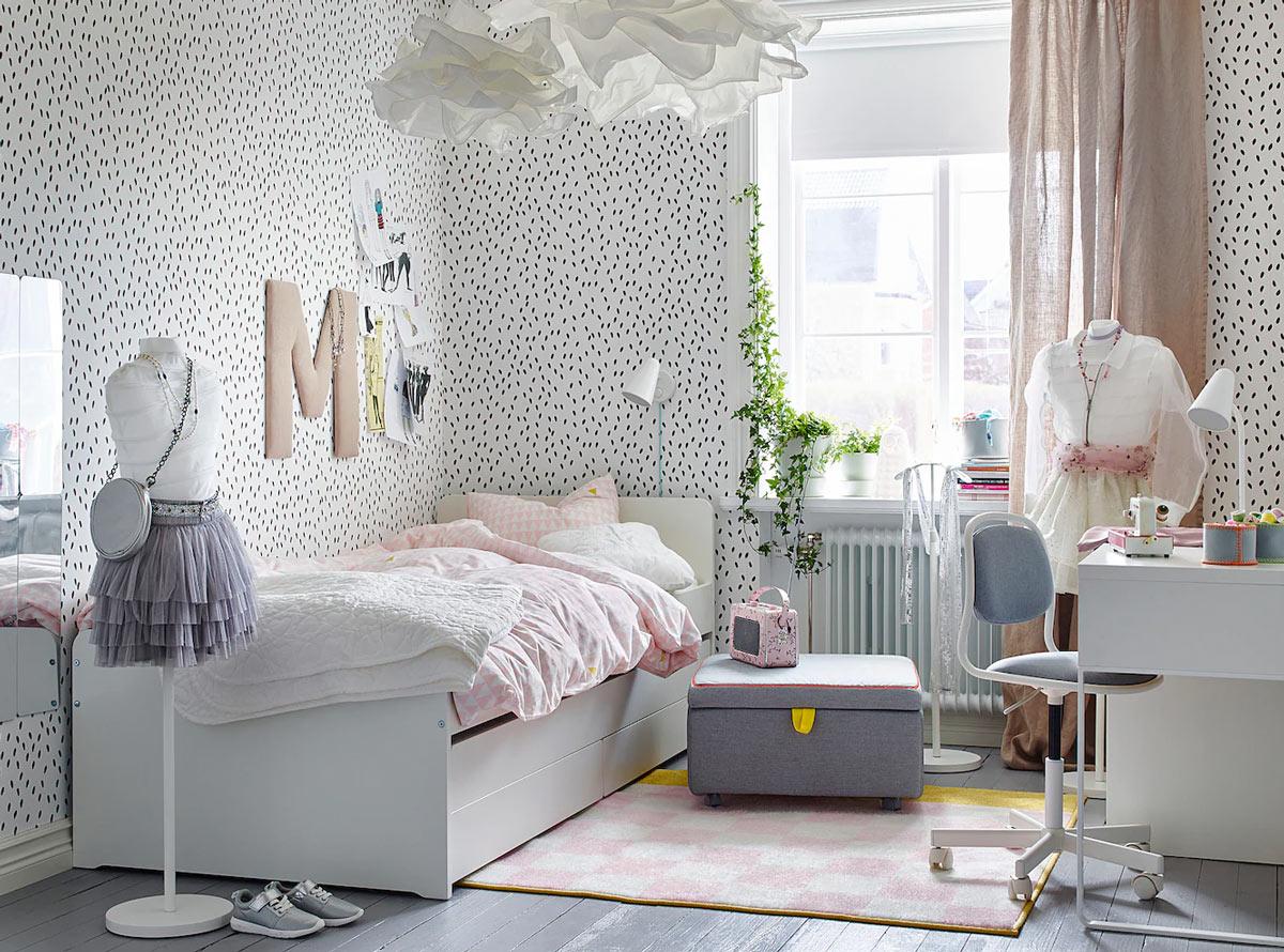 Camerette IKEA per bambini modello SLÄKT