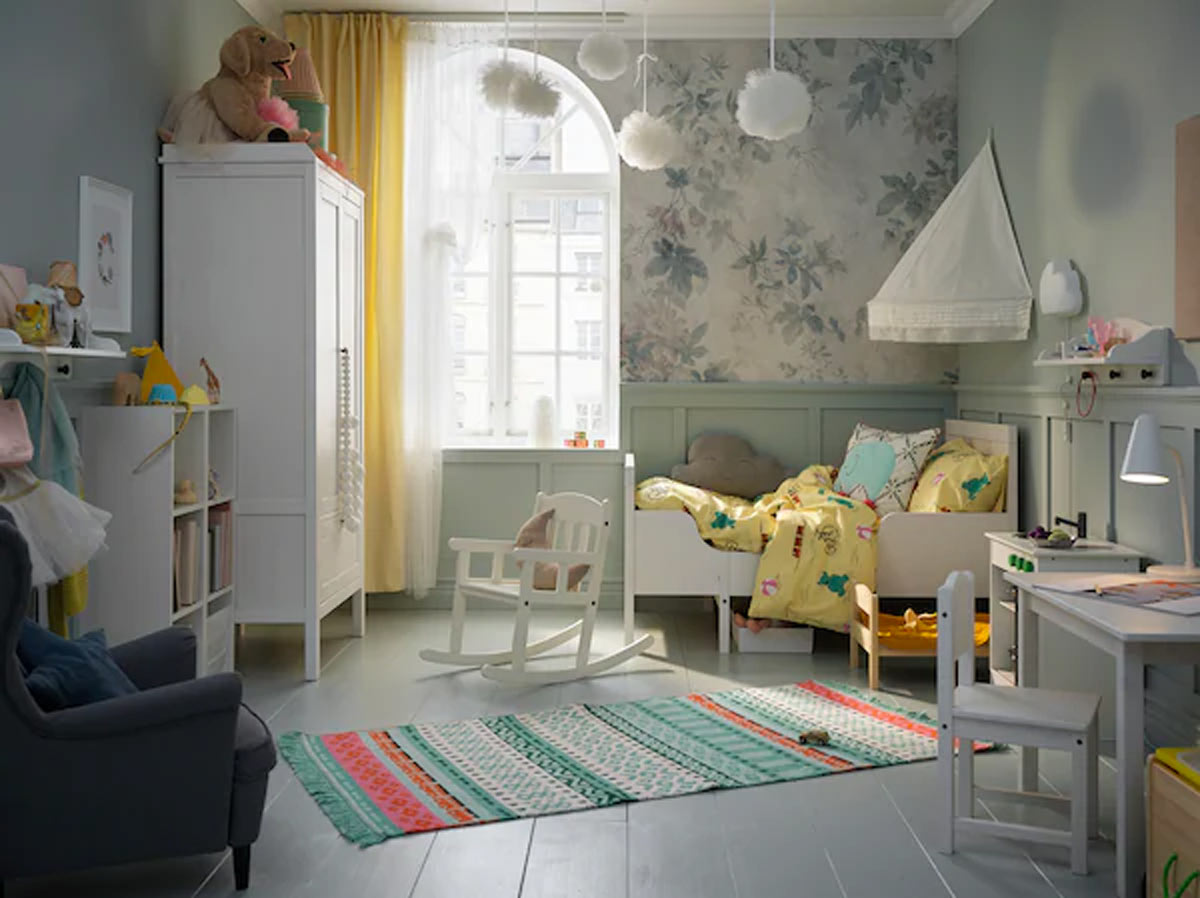 Cameretta IKEA SUNDVIK per bambini