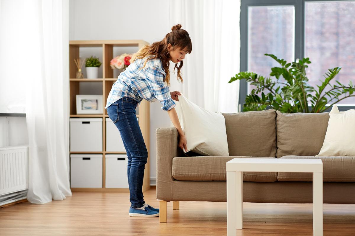 consigli per pulire casa in poco più di 30 minuti.