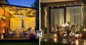 idee creative per decorare gli esterni con le luci