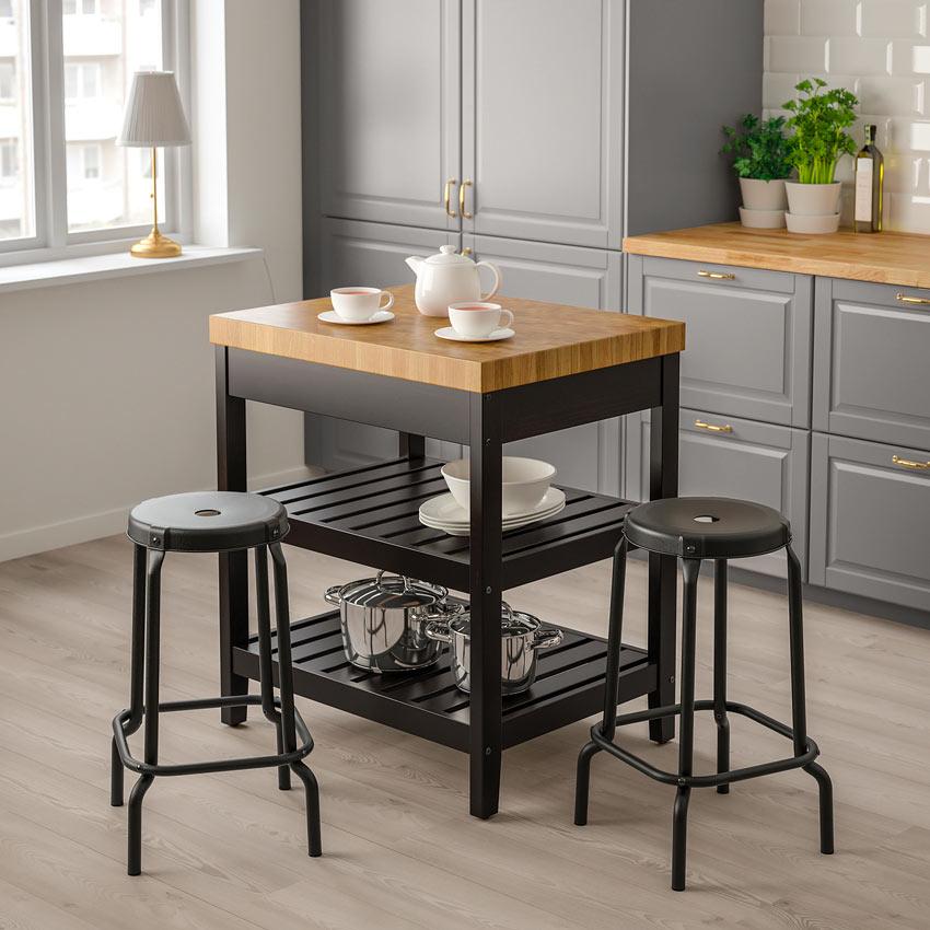 Isola per la cucina di IKEA modello VADHOLMA.