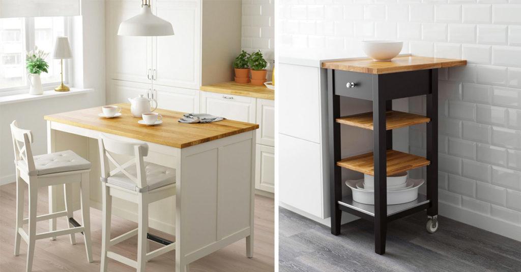 Isole E Carrelli Ikea Per Una Cucina Organizzata E Funzionale Ispiratevi