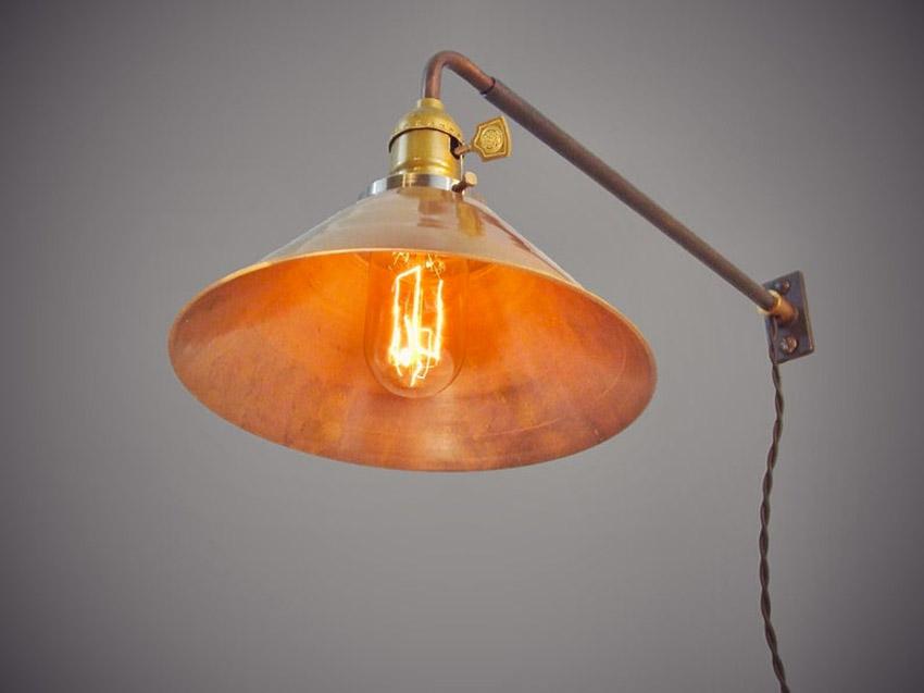 Illuminazione creativa con oggetti riciclati