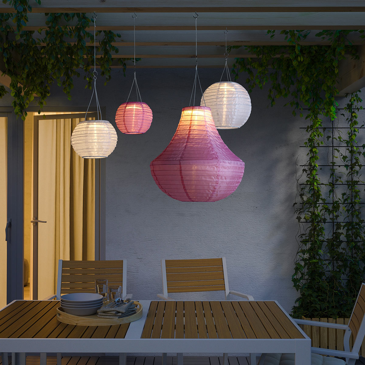 Lanterna IKEA SOLVINDEN in offerta con la family card per il mese di giugno 2020.
