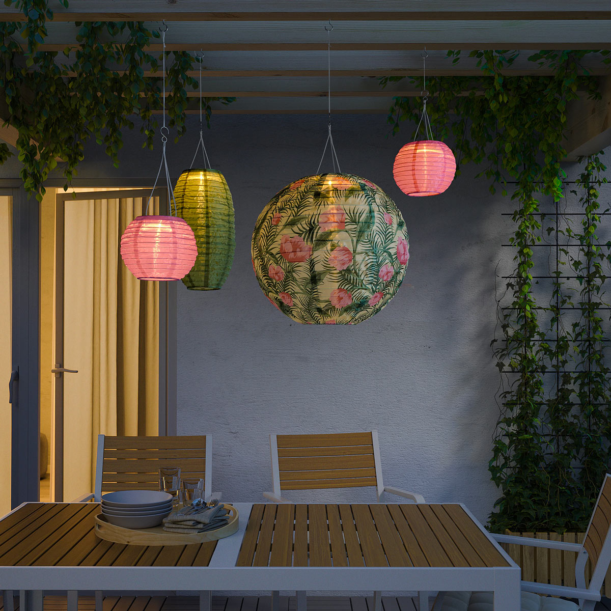 Offerte IKEA family giugno 2020, lanterne SOLVINDEN.