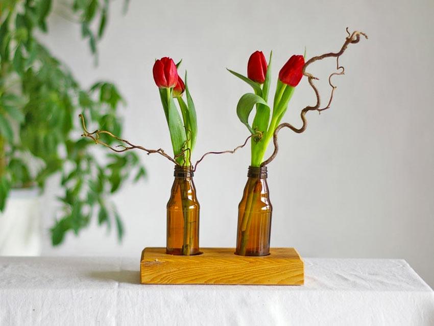 porta fiori fai da te