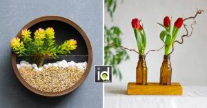 Porta fiori fai da te originali per la casa