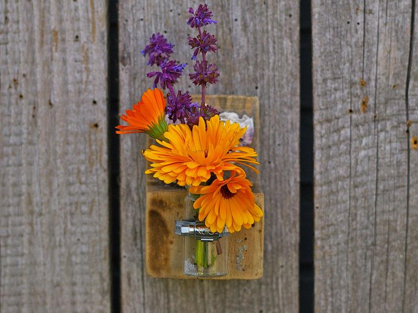 13 Porta fiori fai da te originali per decorare casa ...