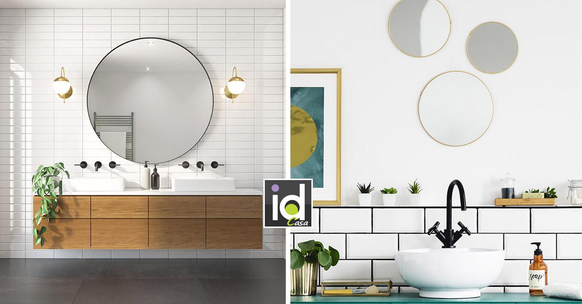 Scegliere lo specchio in bagno