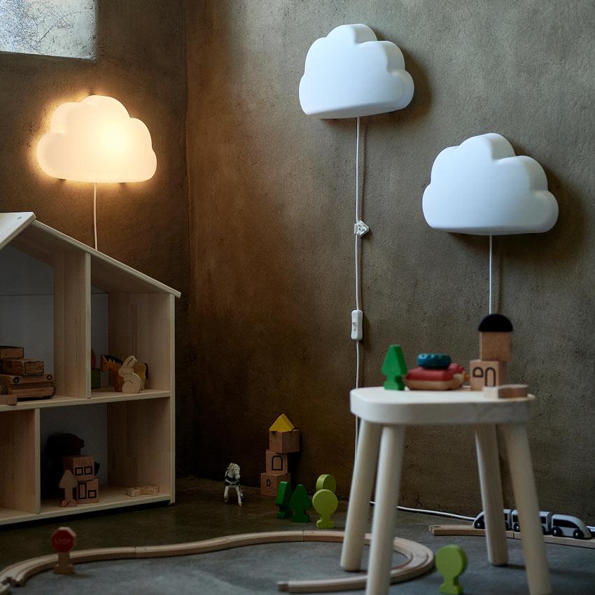 lampada IKEA per cameretta bambini